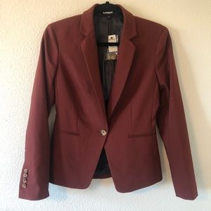 NWT EXPRESS ONE BUTTON BLAZER